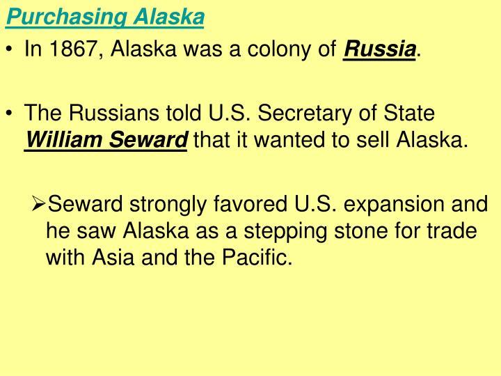 Purchasing Alaska