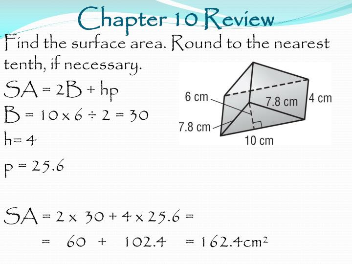 Chapter 10 Review