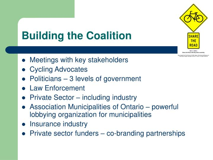 Building the Coalition