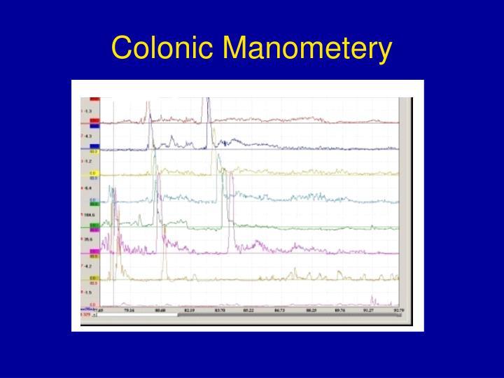 Colonic Manometery