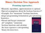 binary decision tree approach5