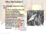 why morristown