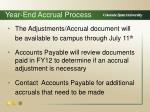 year end accrual process