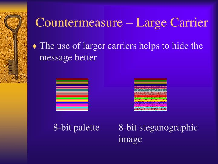 Countermeasure – Large Carrier