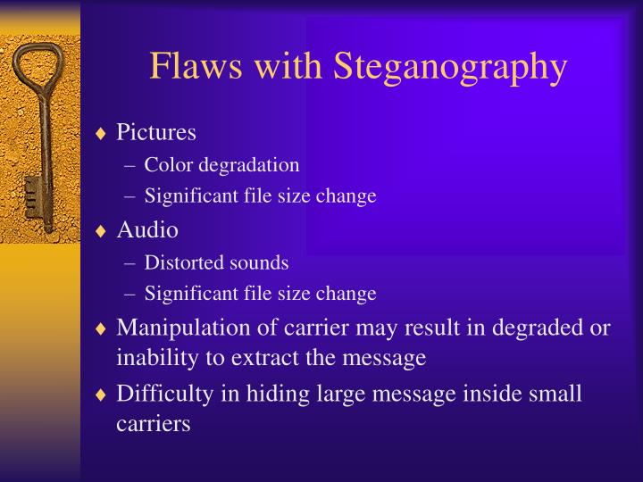 Flaws with Steganography