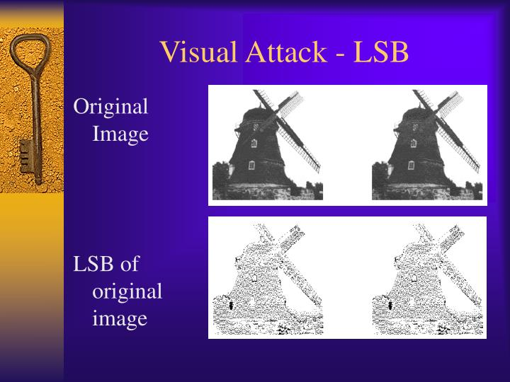 Visual Attack - LSB