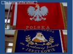 the banner of the school