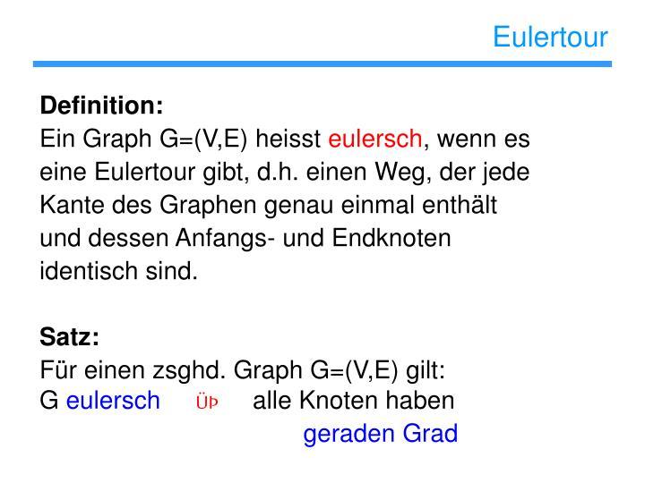 Eulertour