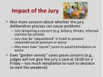 impact of the jury1