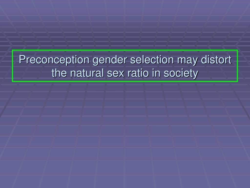 natural selection sex ratio in Kentucky