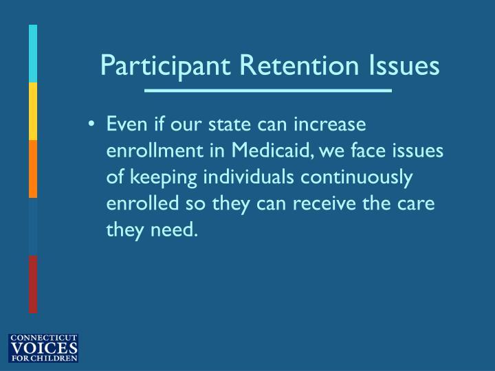 Participant Retention Issues