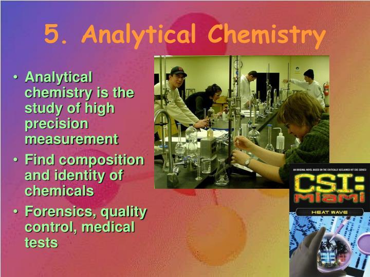 5. Analytical Chemistry