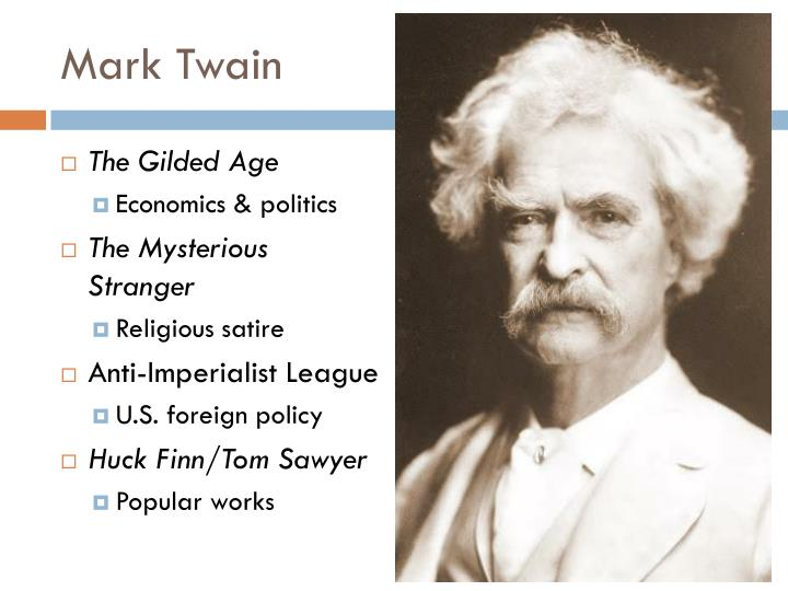 mark twain satire essay 'the autobiography of mark twain': satire to spare after 100 years, the long-awaited autobiography of mark twain, volume 1 has emerged the author dictated his life story to a stenographer, whose.