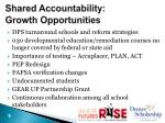shared accountability growth opportunities
