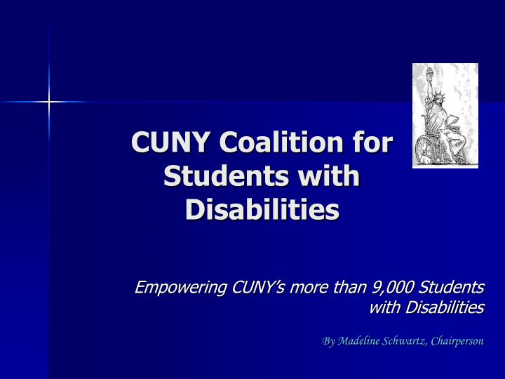 cuny coalition for students with disabilities n.