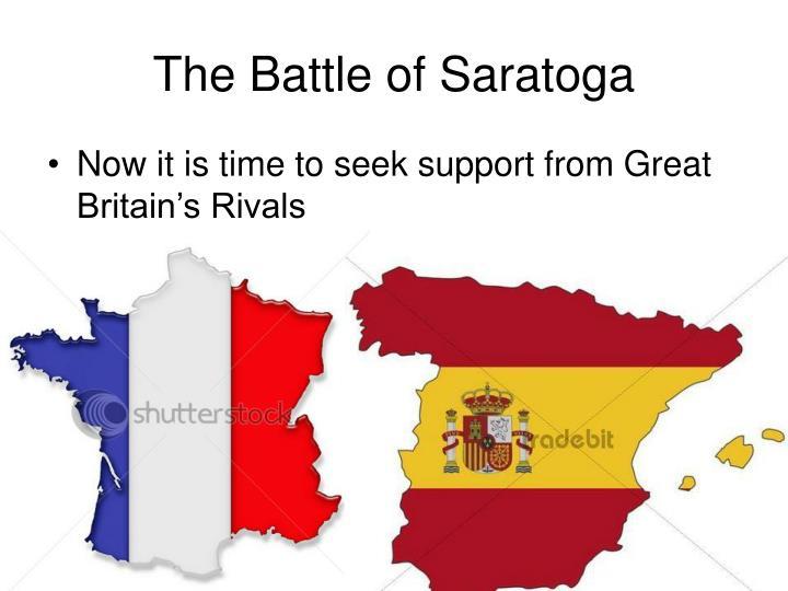 The battle of saratoga2