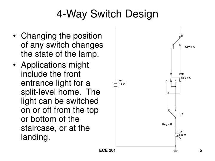 PPT 3Way Switch Design PowerPoint Presentation ID3047833