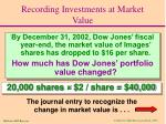 recording investments at market value3
