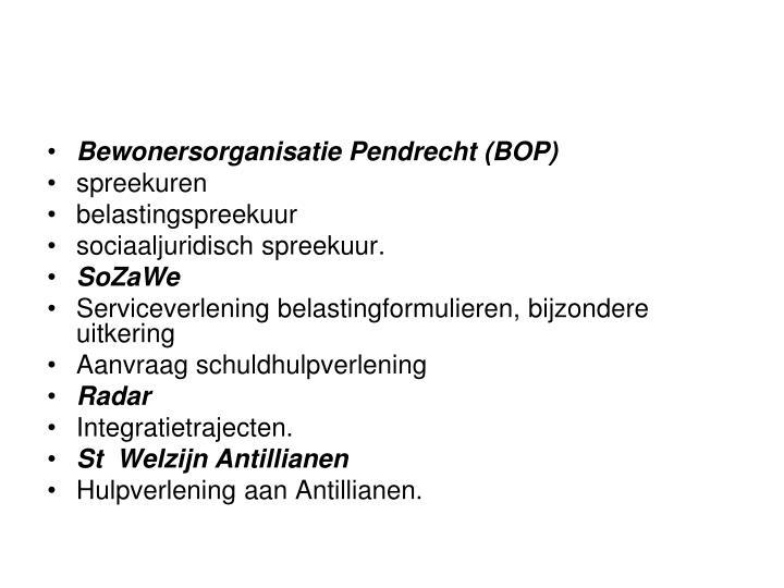 Bewonersorganisatie Pendrecht (BOP)