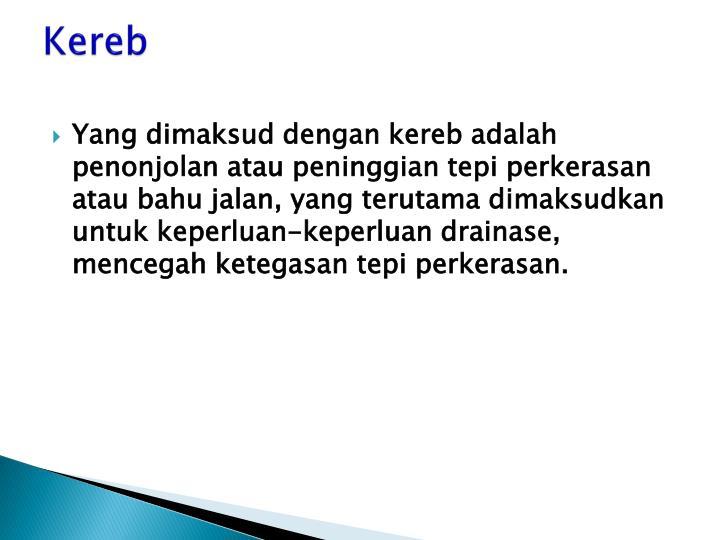 Kereb