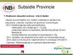 subsidie provincie5
