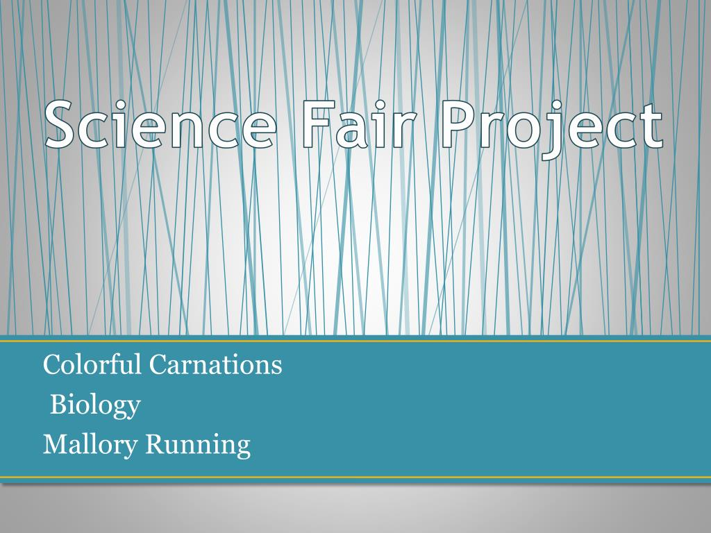 ppt science fair project powerpoint presentation id 3049408