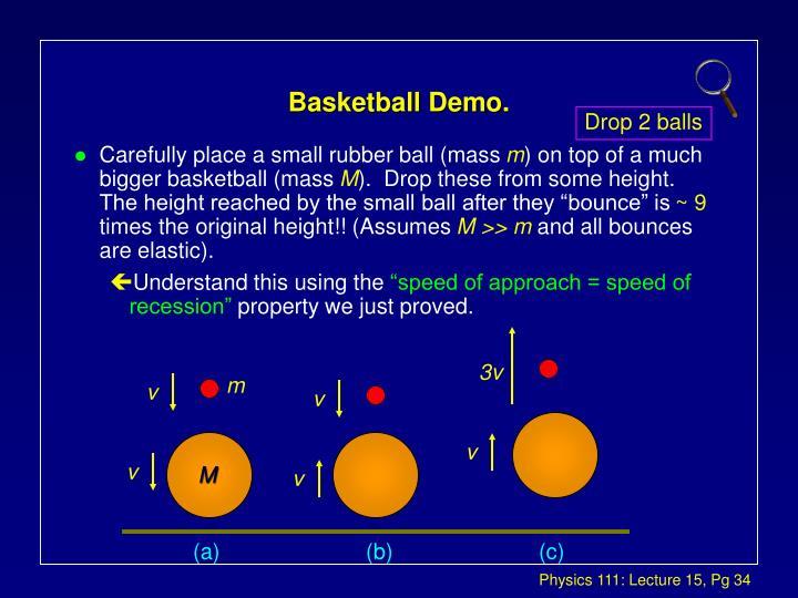 Basketball Demo.