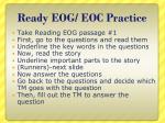 ready eog eoc practice