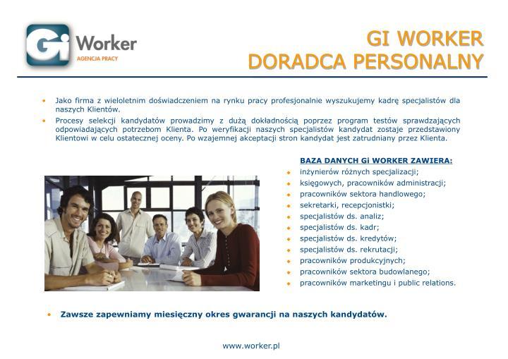 GI WORKER