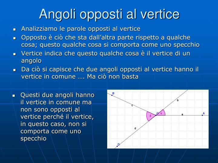 Ppt gli angoli powerpoint presentation id 3050418 - Cosa significa quando si rompe uno specchio ...