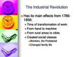 the industrial revolution1