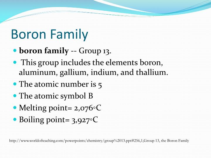 Ppt Boron Carbon Family Powerpoint Presentation Id3050754