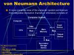 von neumann architecture1