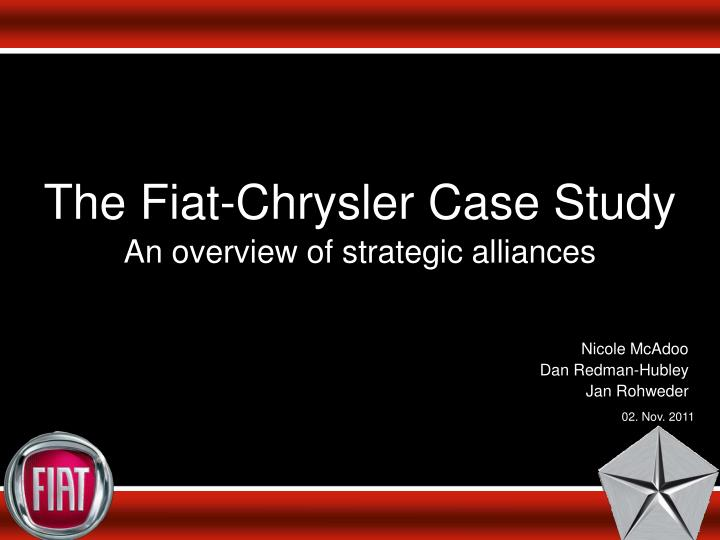 chrysler strategic management