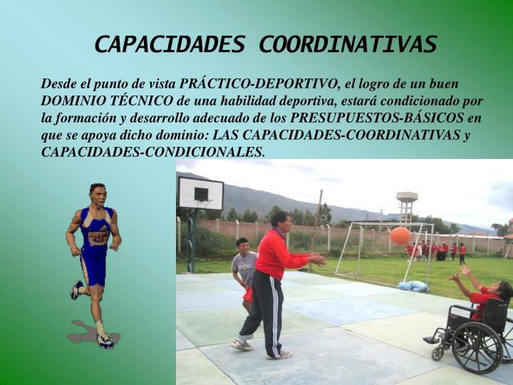 CAPACIDADES COORDINATIVAS