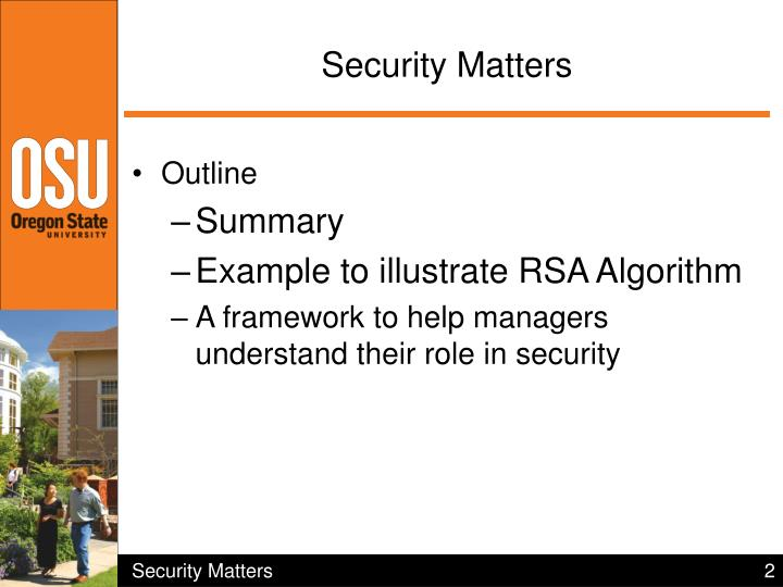 Security matters1