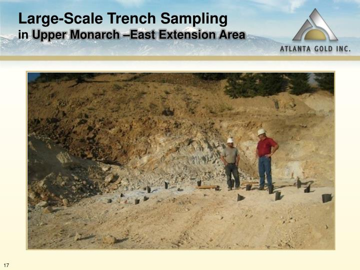 Large-Scale Trench Sampling