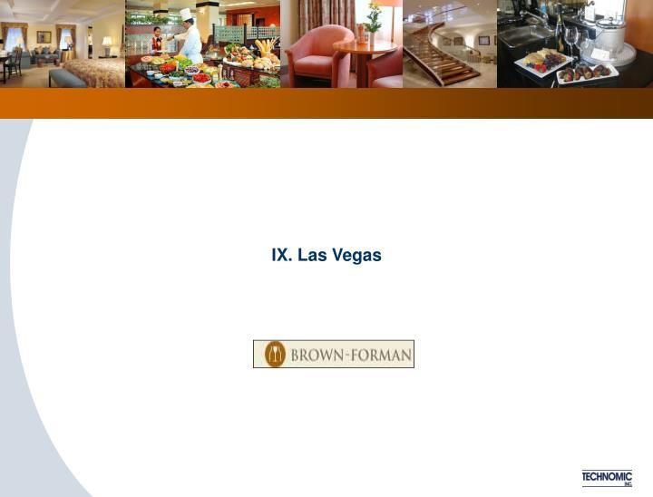 IX. Las Vegas
