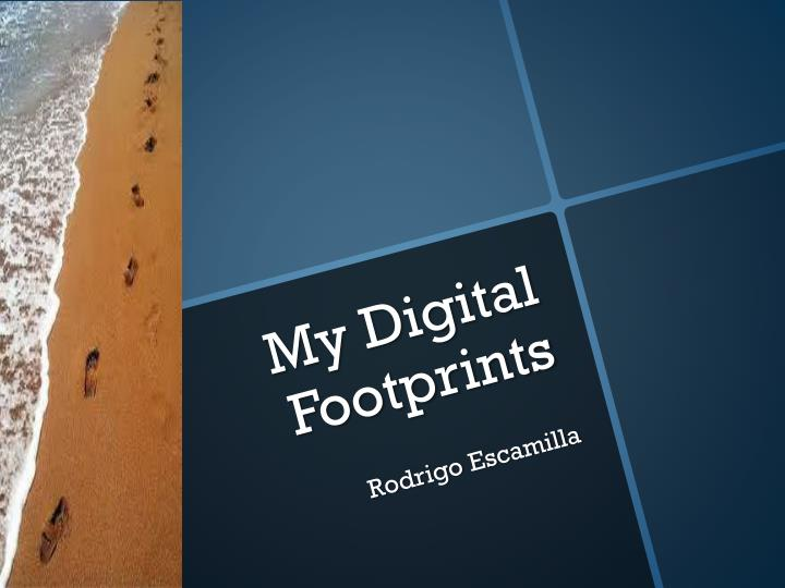 My digital footprints