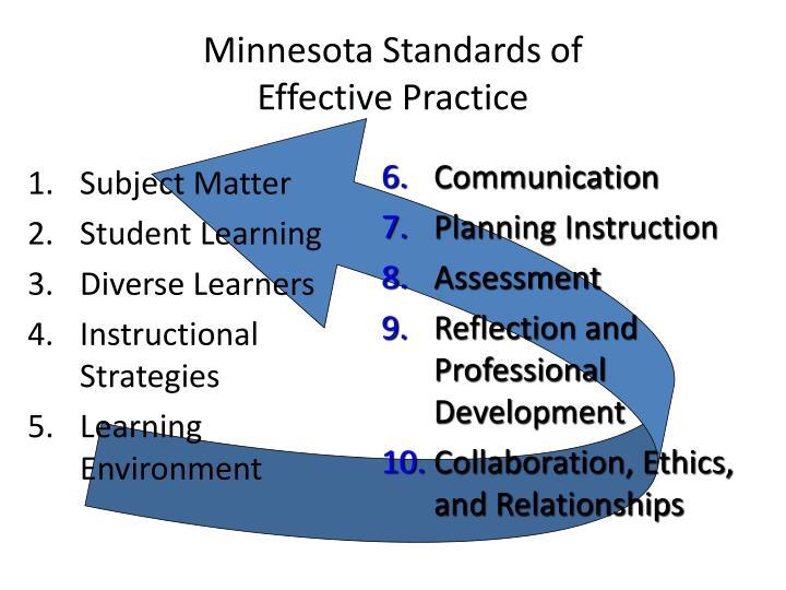 Minnesota Standards of