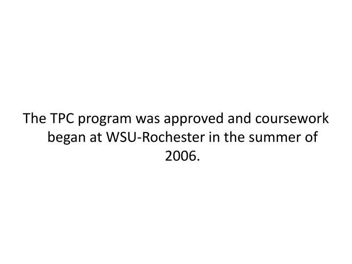 The TPC