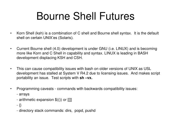 Bourne Shell Futures