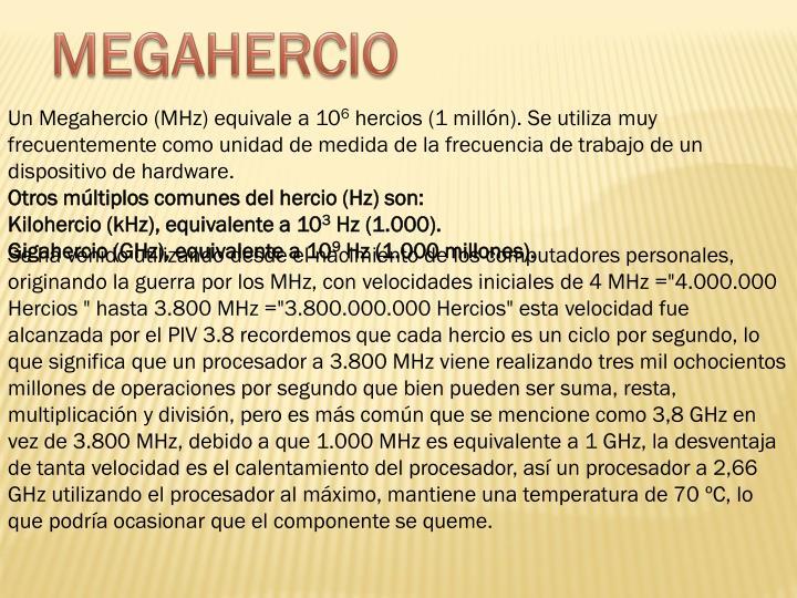 MEGAHERCIO