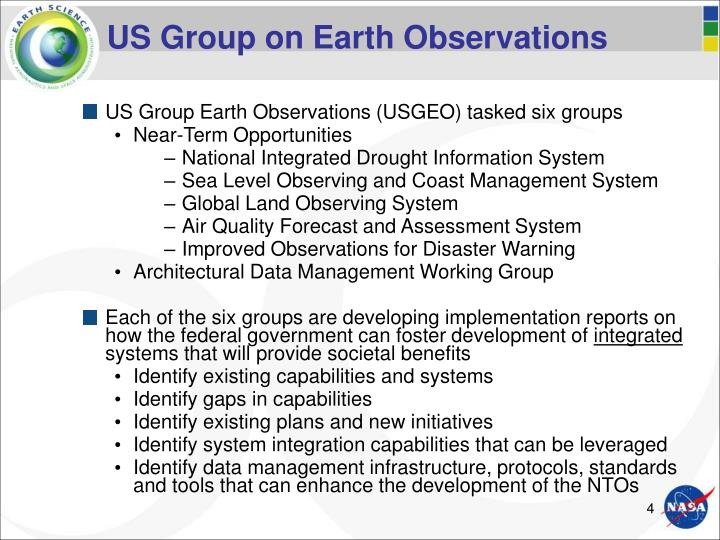 US Group on Earth Observations