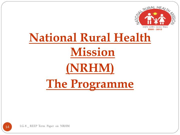 National Rural Health Mission
