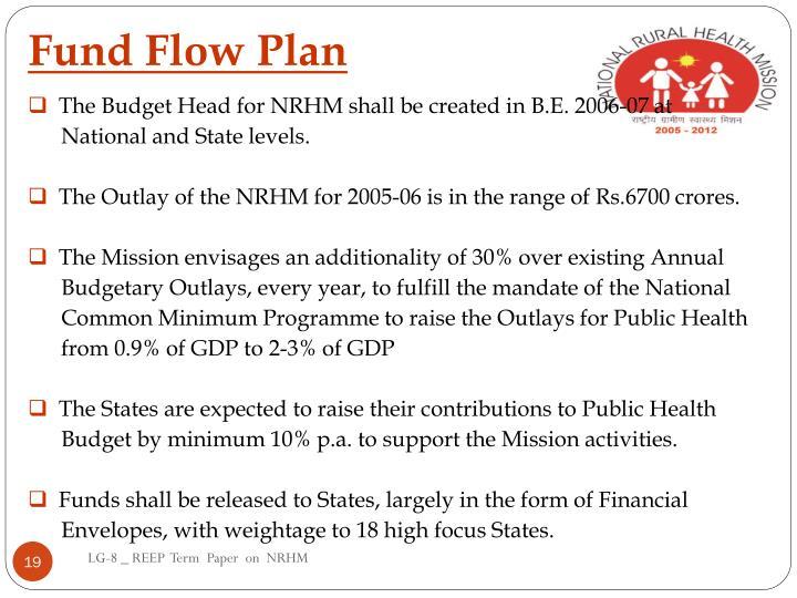 Fund Flow Plan