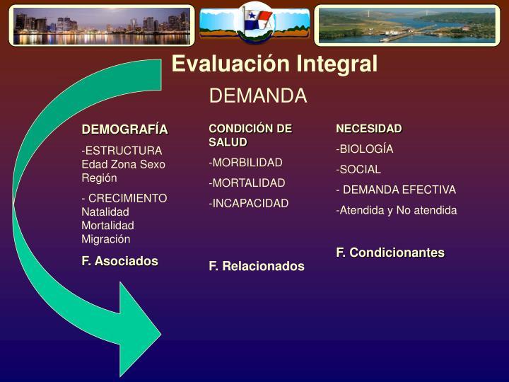 Evaluación Integral