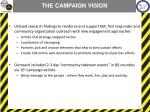 the campaign vision