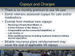 copays and charges