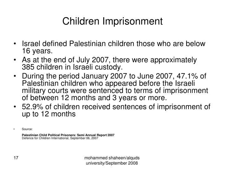 Children Imprisonment
